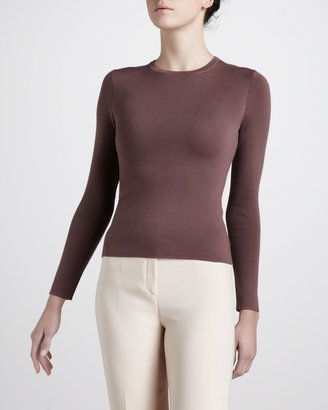 Michael Kors Crew-Neck Cashmere Sweater