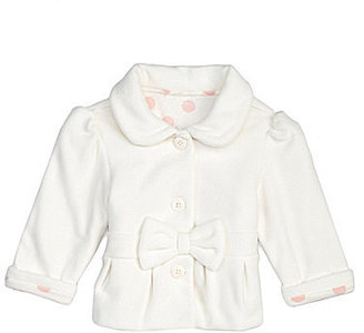 Starting Out 12-24 Months Fleece Bow Coat