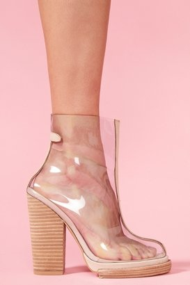 Nasty Gal Clear Platform Boot