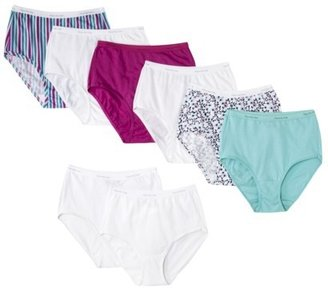 Fruit of the Loom Back to School Bonus Packs (6+2) Cotton Brief - Assorted Colors
