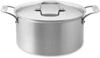All-Clad d5 Brushed Stainless-Steel Stock Pot, 8-QT.