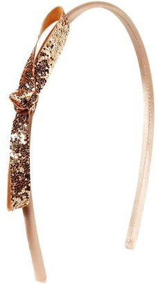 Old Navy Girls Glitter Bow-Tie Headbands