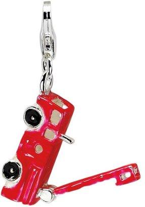 Amore La Vita Sterling Fire Truck Charm