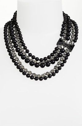 Marc by Marc Jacobs 'ID Bow - Titina' Multistrand Statement Necklace