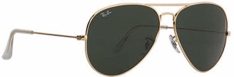 Ray-Ban RB3025 Aviator Extra Large 62mm Metal Sunglasses $150 thestylecure.com