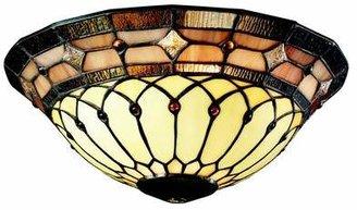 "Kichler Art Glass 11.81"" Glass Ceiling Fan Bowl Shade Kichler"