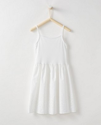Girls Pure Cotton Eyelet Slip $35 thestylecure.com