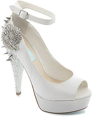 Betsey Johnson Blue by Elope Ankle-Strap Pumps