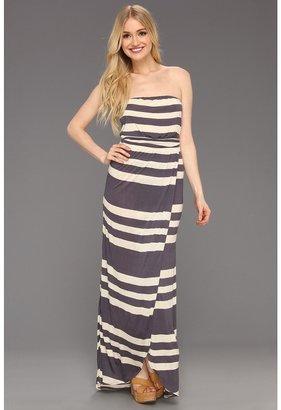 Quiksilver Harbor Maxi Dress (Apricot) - Apparel