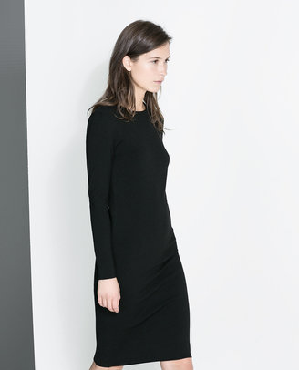 Zara Long-Sleeve Dress