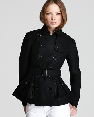 Burberry Reedham Cropped Double Breasted Jacket