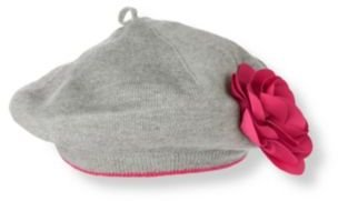 Janie and Jack Rosette Sweater Beret