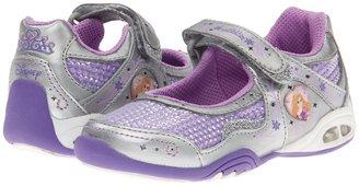 Stride Rite Disney Rapunzel MJ (Toddler/Little Kid) (Purple/Silver) - Footwear