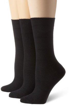 Dockers Women's 3 Pack Triple Roll Sock