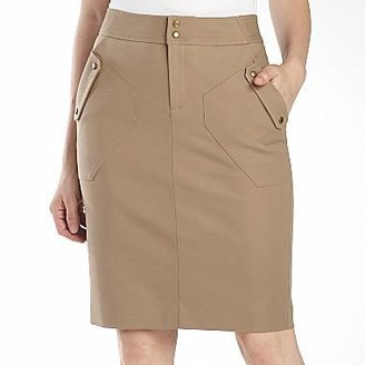 JCPenney Worthington® Snap-Pocket Pencil Skirt