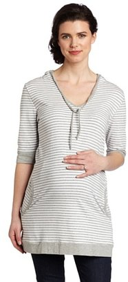 Ripe Maternity Women's Oversized Stripe Tee