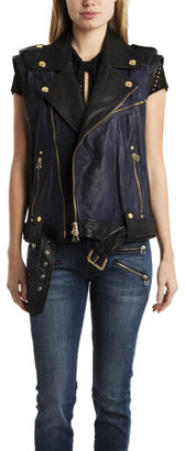 Balmain Pierre Leather Vest