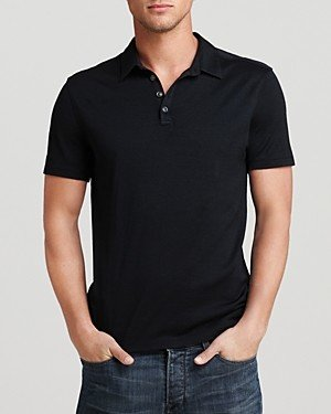 John Varvatos Collection Knit Collared Pullover - Slim Fit