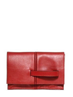 Valentino Dual Leather Clutch