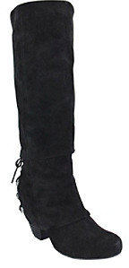 """Naughty Monkey Fall Fever"""" Tall Boot with Back-lacing Detail"""