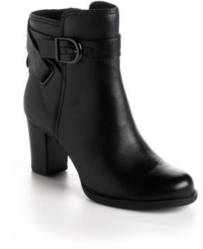 Clarks Jolissa Topaz Leather Ankle Boots