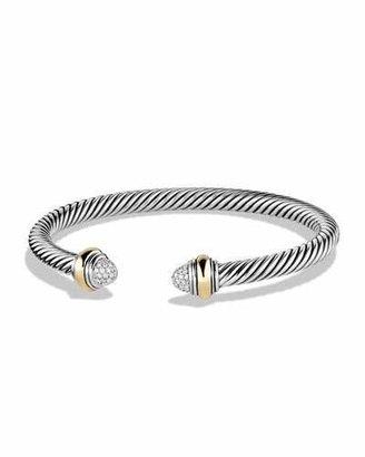 David Yurman Color Classics Bracelet with Diamonds and Gold $1,125 thestylecure.com