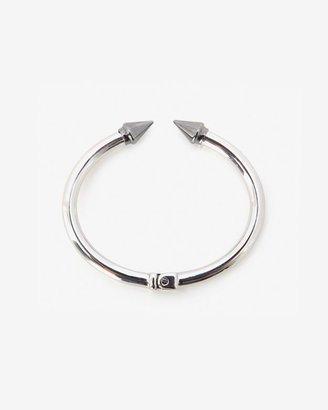 Vita Fede Two Tone Mini Titan Bracelet: Silver/Gunmetal