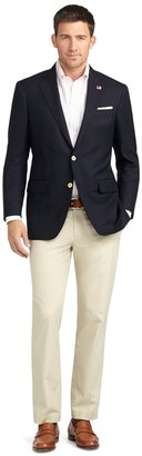 Brooks Brothers Madison Fit Saxxon Silk Blazer