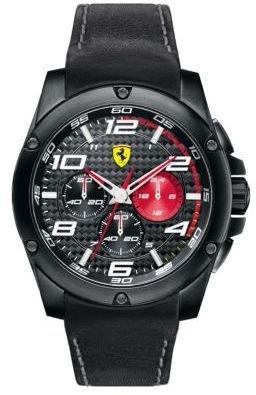 Ferrari Men's Paddock Chronograph Black Watch