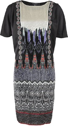 Etro Velvet Aztec Print Dress