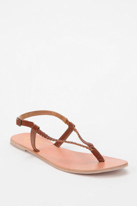 Urban Outfitters Ecote Braided Thong Sandal