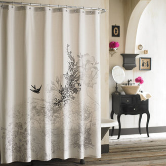 Bed Bath & Beyond Anthology Amour Fabric Shower Curtain