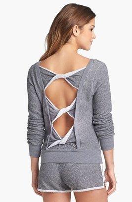 So Low Solow Back Twist Sweatshirt