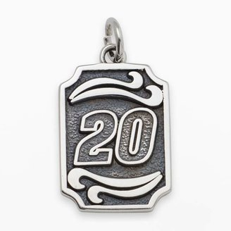 "Insignia Collection NASCAR Matt Kenseth Sterling Silver ""20"" Pendant"