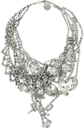 Tom Binns Dumont crystal necklace