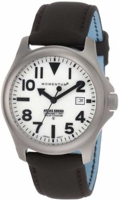 Momentum Men's 1M-SP00W12C Atlas Dial Brown Touch Leather Watch