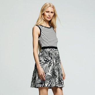 Peter Som for designation mixed-print dress - women's