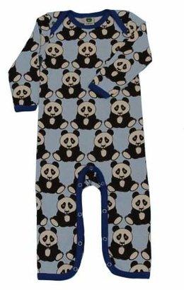 Smafolk Unisex Baby Long Sleeve Bodysuit with Pandas Size