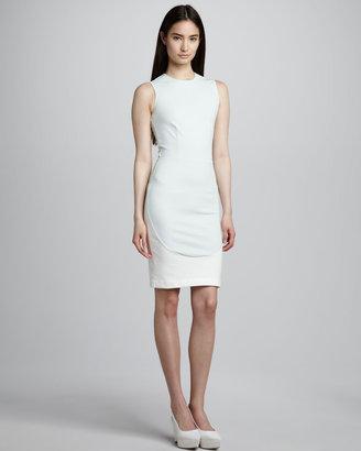 Stella McCartney Elliptical-Panel Sheath Dress