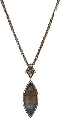 Sevan Biçakci Diamond & Topaz Peacock Pendant Necklace