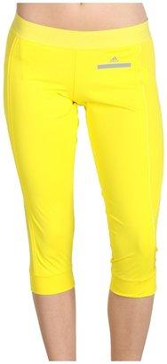 adidas by Stella McCartney Run 3/4 Tight (Fresh Lemon) - Apparel