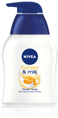Nivea Honey Milk Liquid Soap by 250ml Liquid Soap)