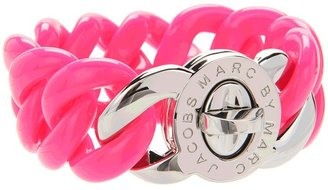 Marc by Marc Jacobs Key Items Small Candy Turnlock Bracelet (Knockout Pink) - Jewelry