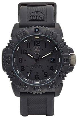 Men's Luminox 'Sea - Navy Seal Colormark' Silicone Strap Watch, 43Mm $395 thestylecure.com