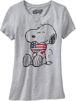 Old Navy Women's Snoopy® Flag-Heart Tees