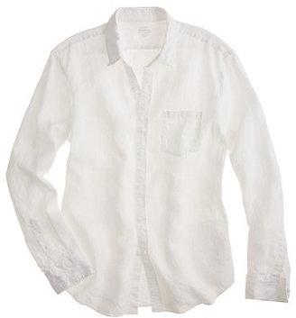 J.Crew Slim Irish linen shirt