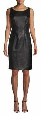HUGO Sleeveless Leather Dress