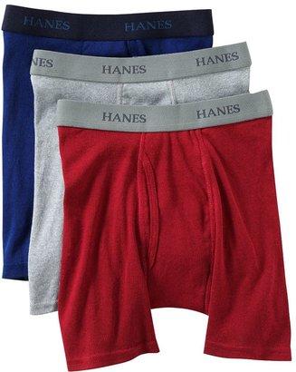 Hanes 3-pk. Boxer Briefs - Boys 2-20