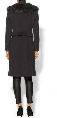 Tracy Reese Peplum Coat