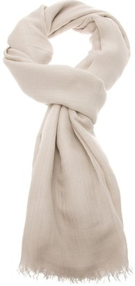 Jil Sander fringed scarf